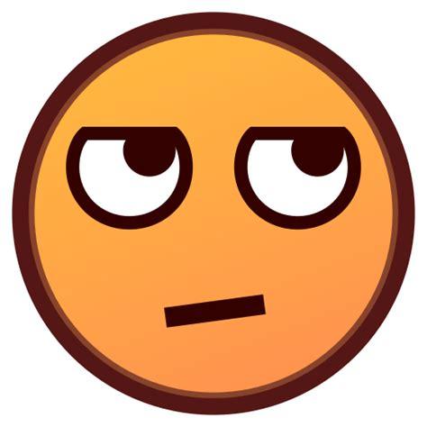emoji rolling eyes eye rolling emoji www imgkid com the image kid has it