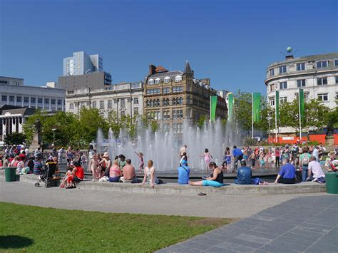 Manchester Gardens by Piccadilly Gardens Manchester 169 David Dixon Geograph
