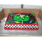 Race Track Cake  Ideas Pinterest