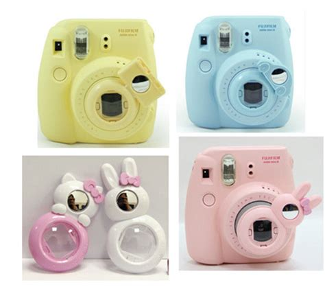 Mirror Lens Color For Instax 7s 8 up lens self portrait mirror for polaroid