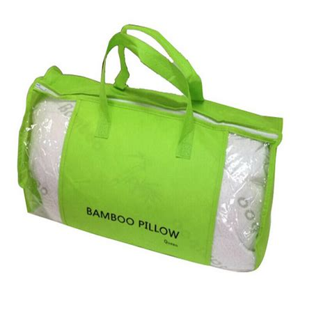 bamboo pillow with cool comfort hotel bamboo pillow memory foam hypoallergenic cool