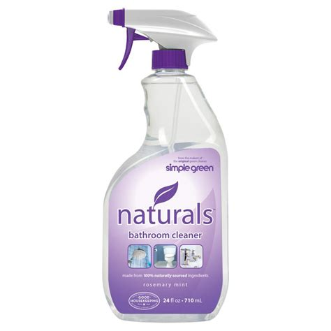 home bathroom cleaner simple green 24 oz naturals bathroom cleaner