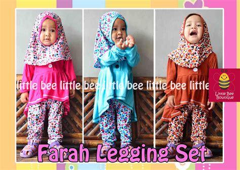 Set Fondy Baju Anak farah legging set baju anak balita