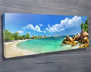 Picture Frame Stickers For Wall thailand paradise beach canvas prints australia