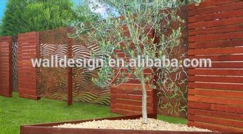 Garden Decorative Fence Panels by Cnc Carved Decorative Metal Fence Panels For Garden