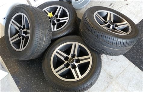 camaro iroc wheels original gm set