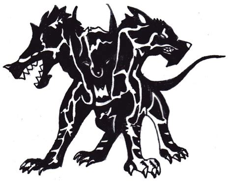 cerberus tattoo by paigeb123 on deviantart