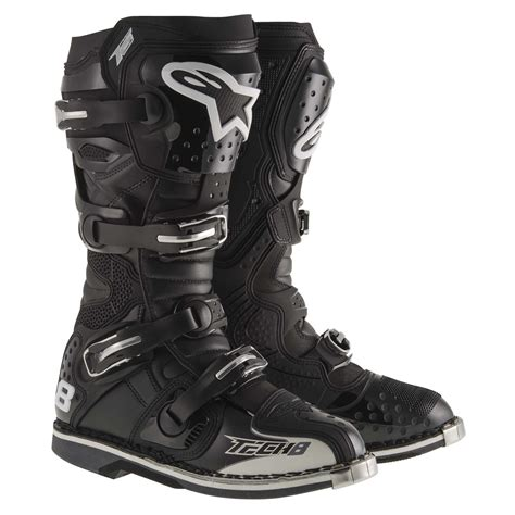 black dirt bike boots alpinestars new 2017 mx tech 8 rs dirt bike offroad black
