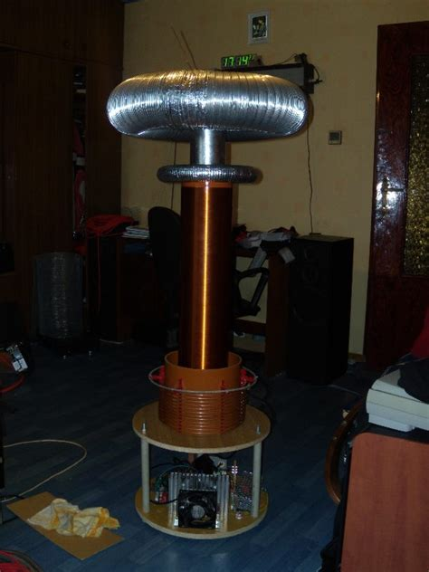 Tesla Coil Resonant Frequency Drsstc Dual Resonant Solid State Tesla Coil