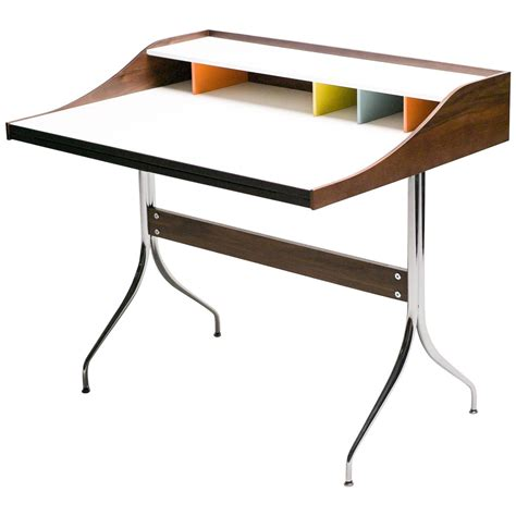 nelson swag leg desk george nelson swag leg desk at 1stdibs