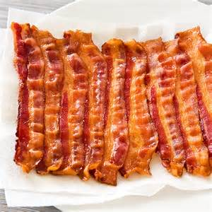oven cooked bacon