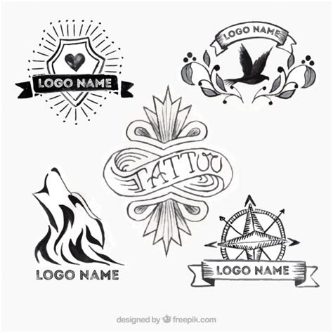 tattoo old school logo tattoo logos selection old school vector free download