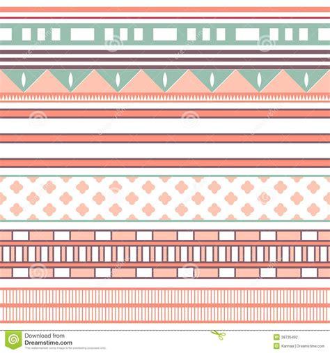 cute tribal pattern wallpaper tribal ethnic seamless stripe pattern vector illustration
