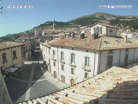roccaraso web live pescocostanzo view pescocostanzo