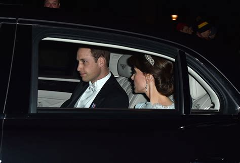 kate middleton stuns in cambridge love knot tiara at diplomatic kate middleton wears the cambridge lover s knot tiara for