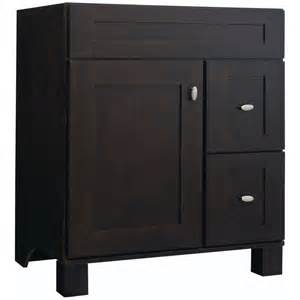 Lowes Palencia Vanity Shop Fresh Fit Palencia Espresso Transitional