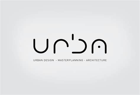 free logo design urban urba corporate identity on behance
