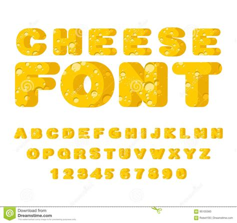 Cheesy Letters For