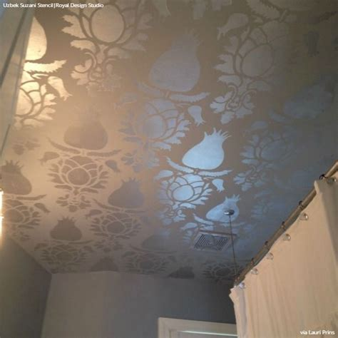 large ceiling stencils 192 best images about stenciled and painted ceilings on