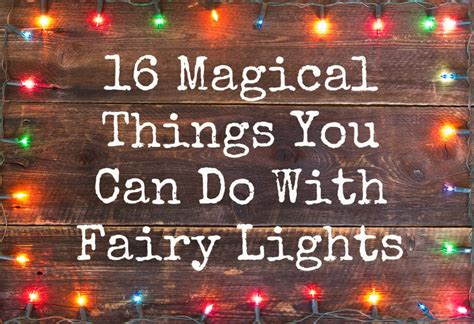 how to do lights with 16 magical things you can do with lights