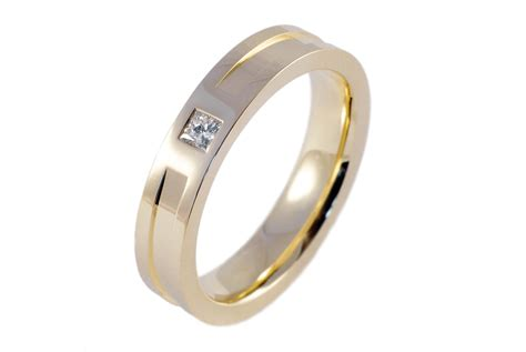 engagement rings mens yellow gold diamond engagement ring