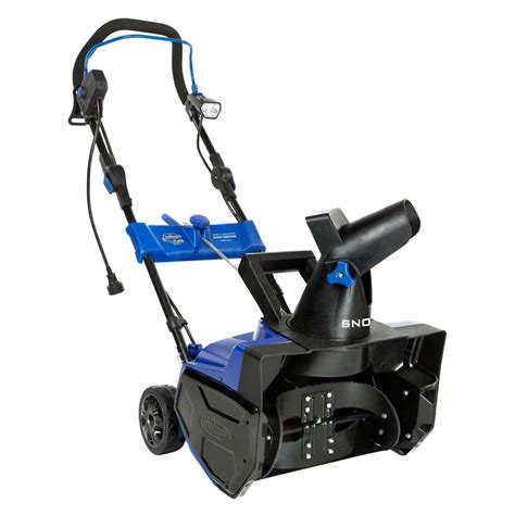 snow joe 18 ultra electric snow thrower with light snow joe 14 5 amp ultra electric snow blower with 18 inch