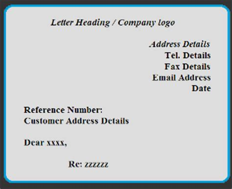 letter format examples  samples