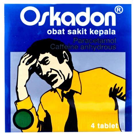 Oskadon Sp Isi 4 jual oskadon tablet isi 4 kaplet toko jago