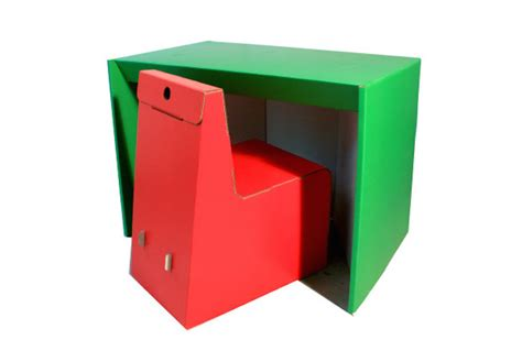 this pop up room in a box snaps together in 30 minutes