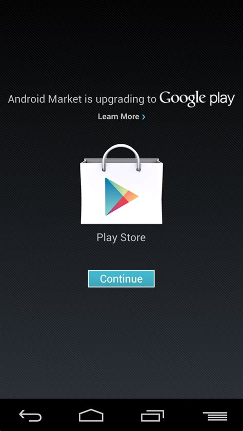 play android get the play store update now no stinking required talkandroid