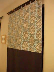 flat panel curtains floral motif blogged laura bucci