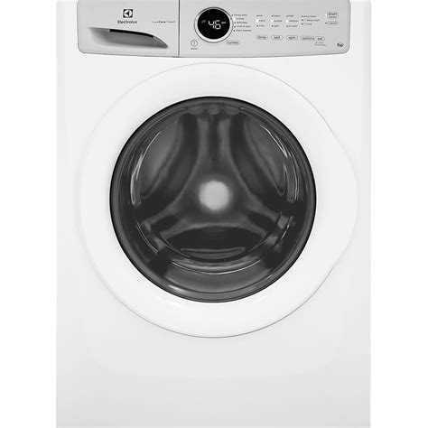 Electrolux Ewf85743 Front Loading electrolux 4 3 cu ft high efficiency front load washer in white energy eflw317tiw the