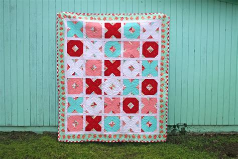 Quilt Pattern X And O | lovely little handmades x s o s quilt tutorial