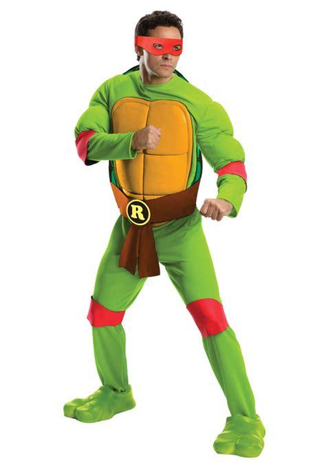 sexy ninja turtle halloween costume deluxe adult raphael