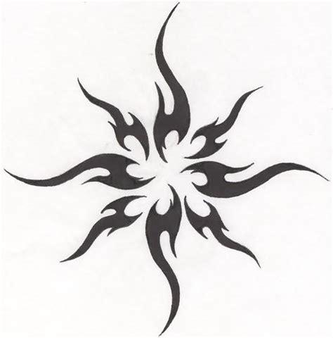 tribal suns tattoos sun images designs