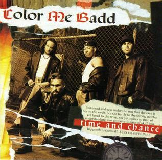 color me badd forever time and chance color me badd album