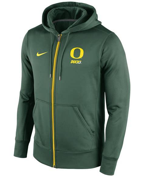 Hoodie Oregon nike s oregon ducks sideline ko zip hoodie in