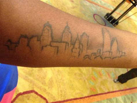 philadelphia skyline tattoo philly ink we asked for your best philadelphia tattoos