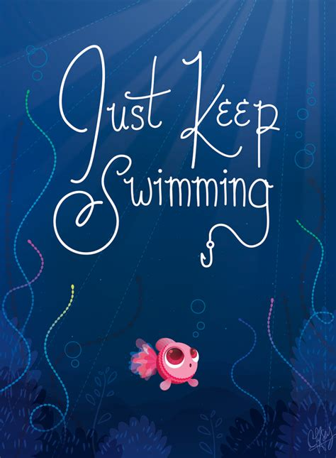 just keep swimming by chelseyholeman on deviantart