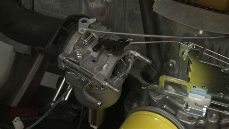 briggs stratton riding lawn mower engine carburetor
