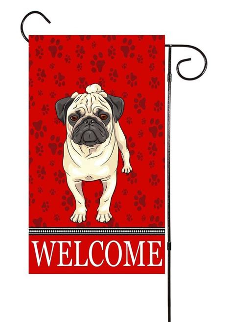 pug garden flags best 25 pug ideas on pug pug diy and pugs