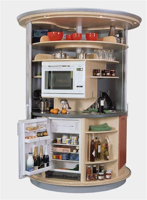 Revolving Circle Compact Kitchen Idesignarch Interior | revolving circle compact kitchen idesignarch interior