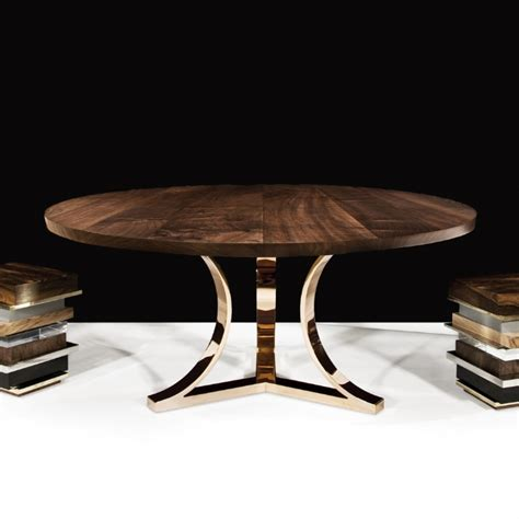 hudson furniture dining tables arc base
