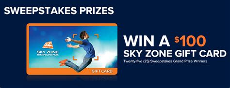 Skyzone Gift Cards - sky zone win 1 of 25 100 gift cards by april 22 2015 giveawayus com