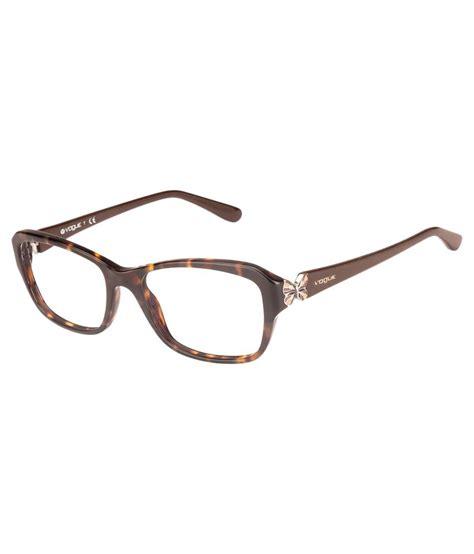 vogue cateye printed eyeglasses brown buy vogue cateye