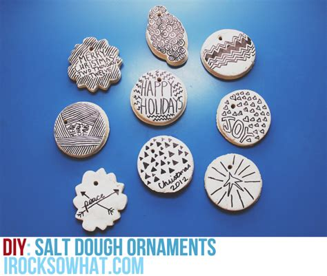 day 27 salt dough ornaments the paper mama