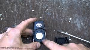 Battery For Toyota Corolla 2010 How To Replace Battery Remote Key Toyota Corolla Years