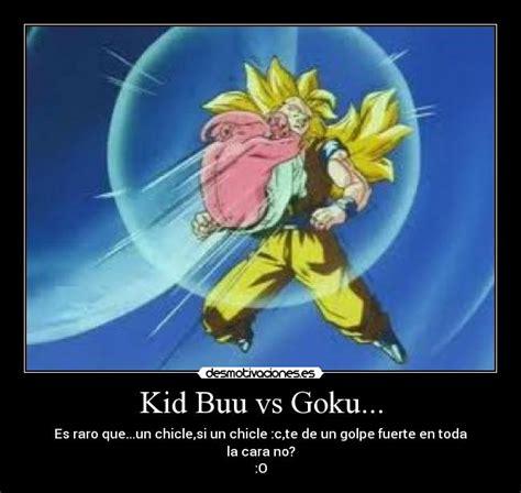 imagenes de goku vs majin buu kid buu vs goku desmotivaciones