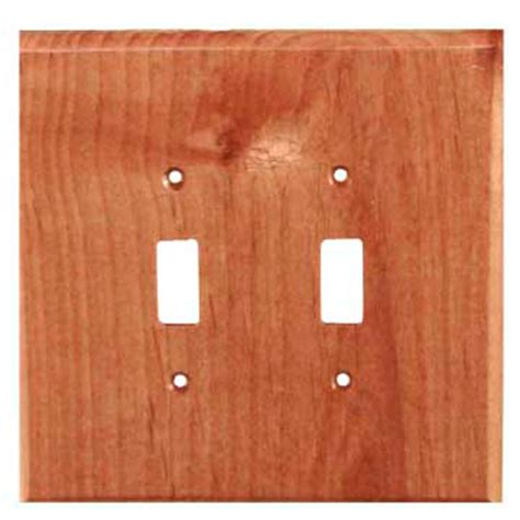 wood light switch covers traditional wood double switch plate