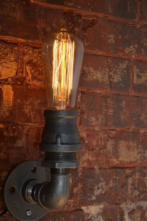 Steampunk Sconce Industrial Sconce Steampunk Wall Sconce Industrial